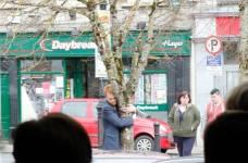 Tree hug.