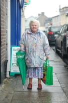 A wonderful character of the town. Bridgy passed away in 2014. RIP