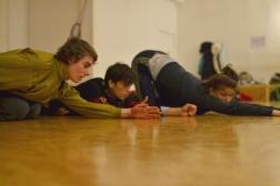 On the floor in Smash 5