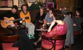 An old style night in an Irish pub.